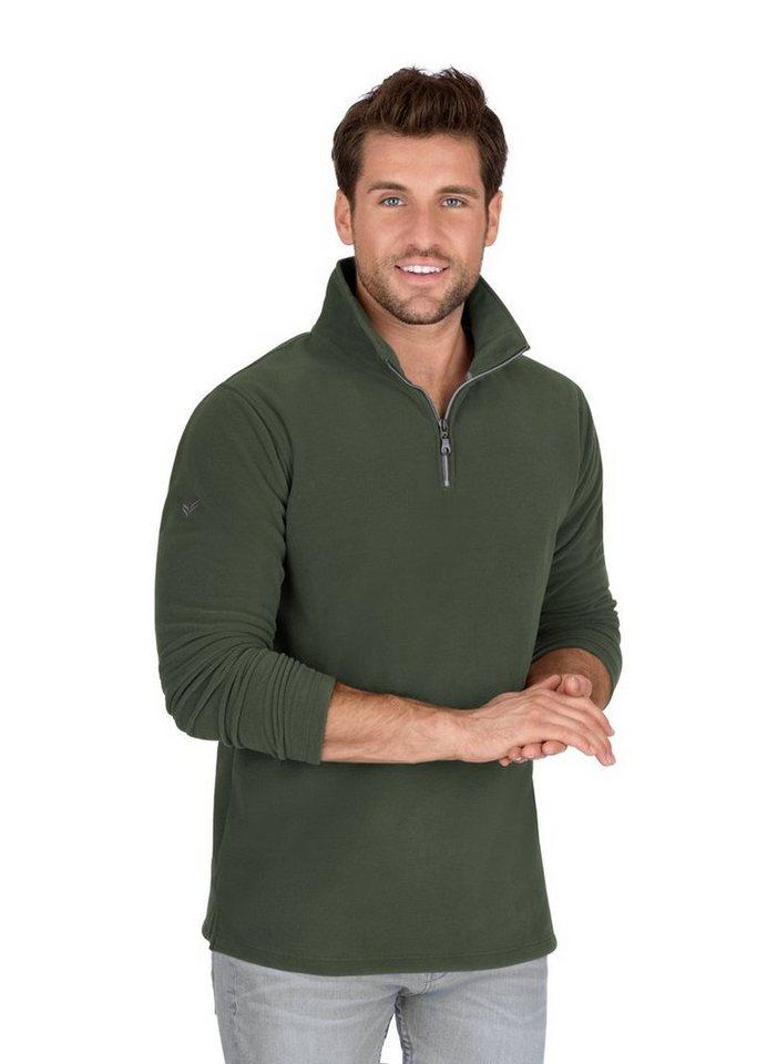 the best attitude bc2c5 9139c Trigema Fleece-Pullover mit Reißverschluss kaufen | OTTO