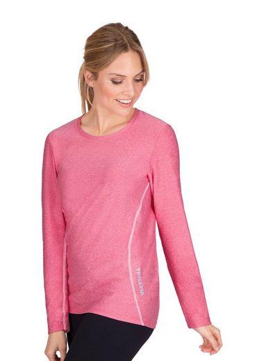 Trigema Sport-Shirt aus elastischer Microfaser