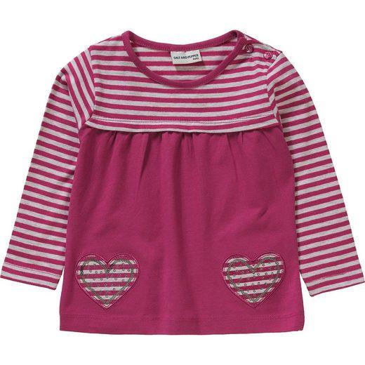 Salt & Pepper Baby Langarmshirt für Mädchen