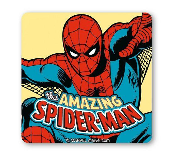 LOGOSHIRT Untersetzer im lizenzierten Originaldesign »Amazing Spider-Man«
