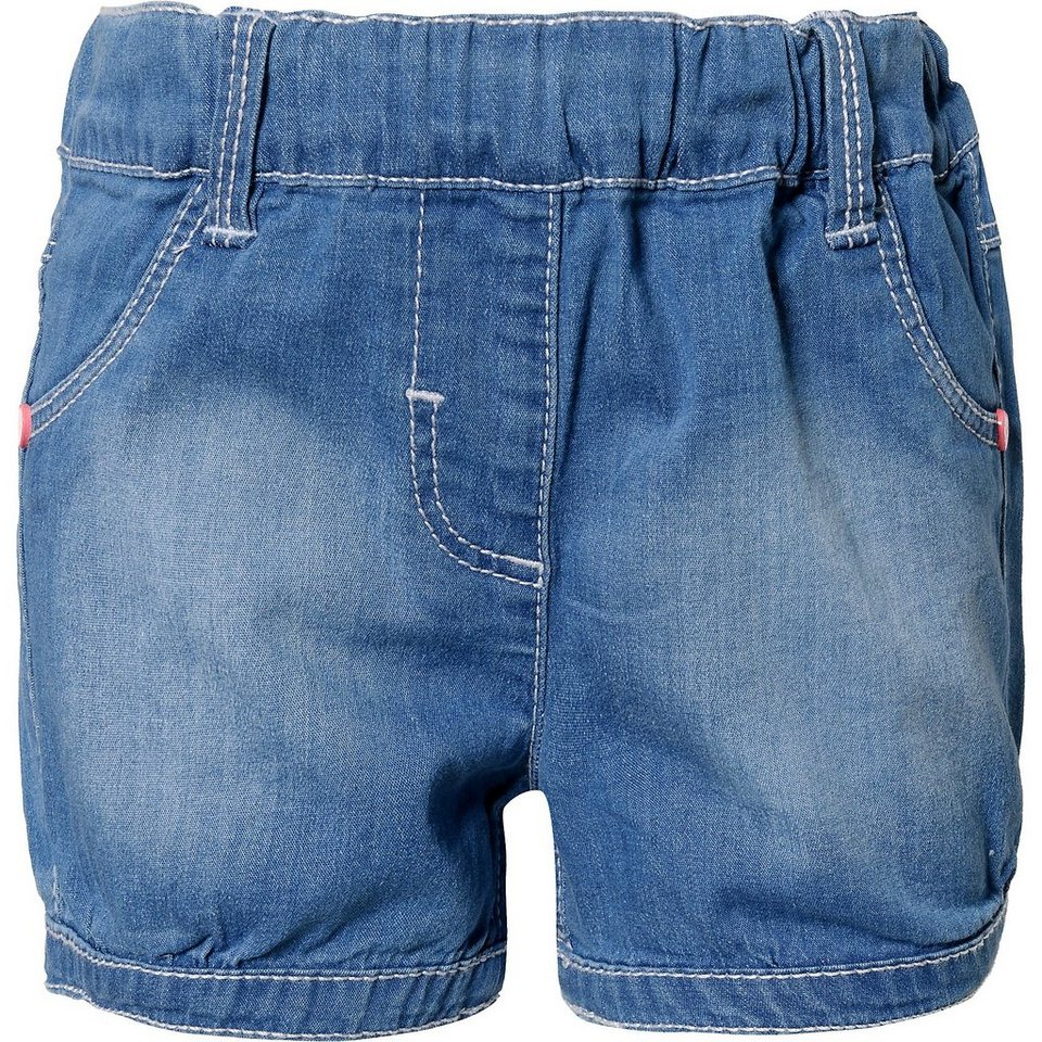 s.Oliver SHORT - Jeanshosen -, elastischer Bund mit ...  Oliver Short