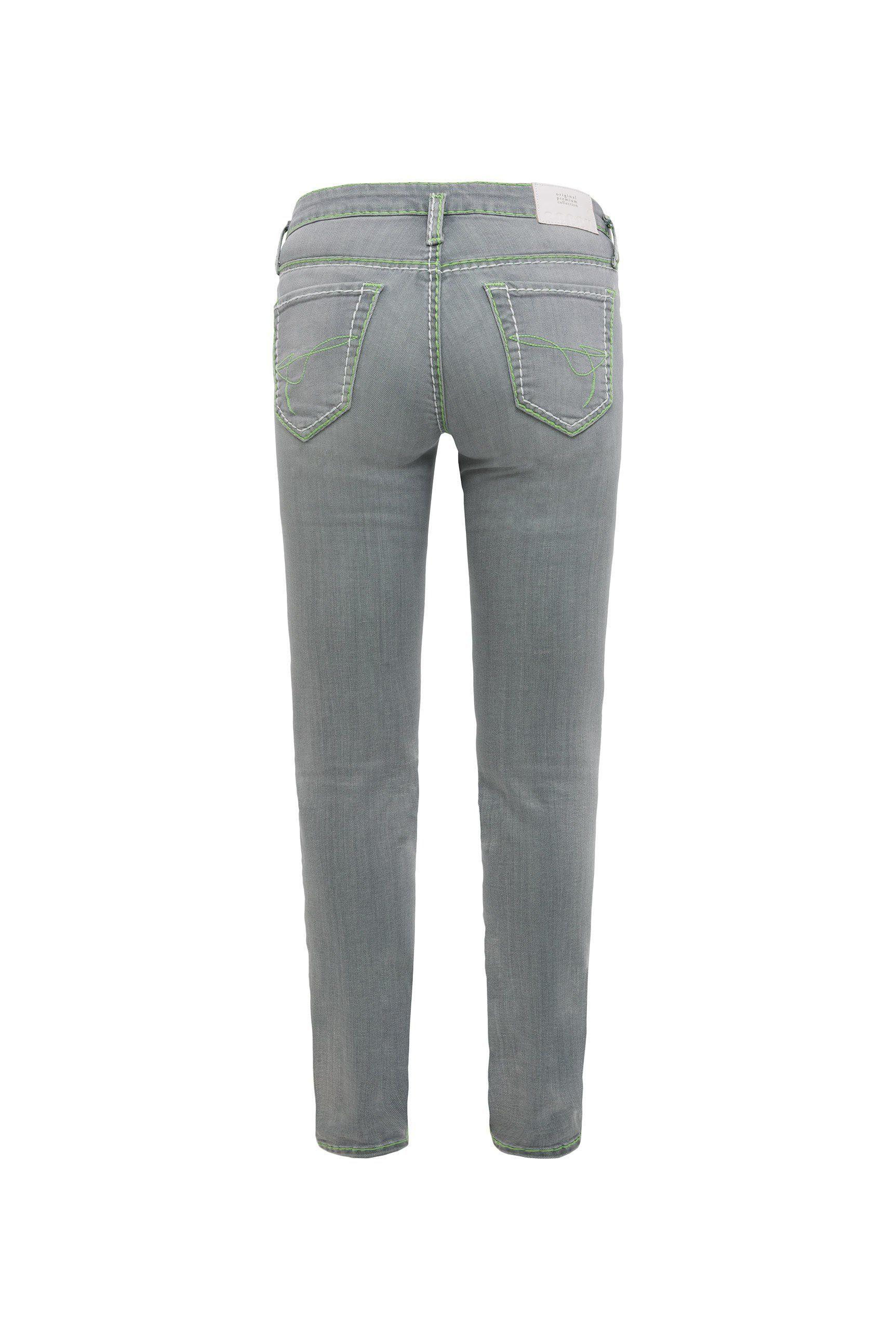 Soccx 5-pocket-jeans »ka:ra« Mit Turn-up Saum