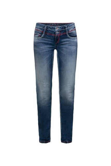 Hosen - SOCCX Slim fit Jeans mit breiten Nähten ›  - Onlineshop OTTO