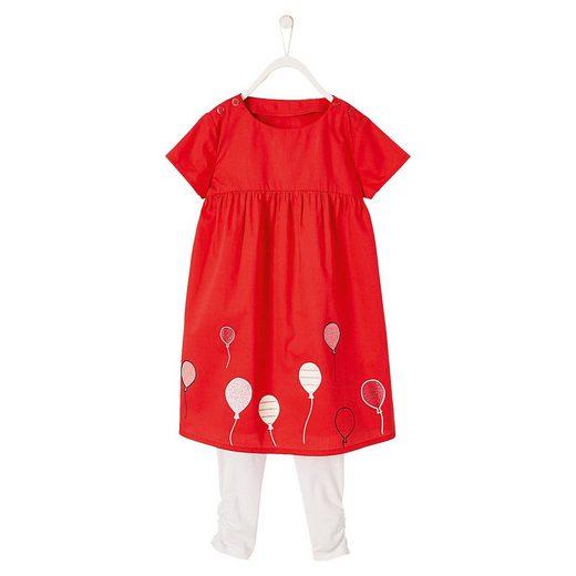 vertbaudet Kinder Set Jerseykleid + Leggings