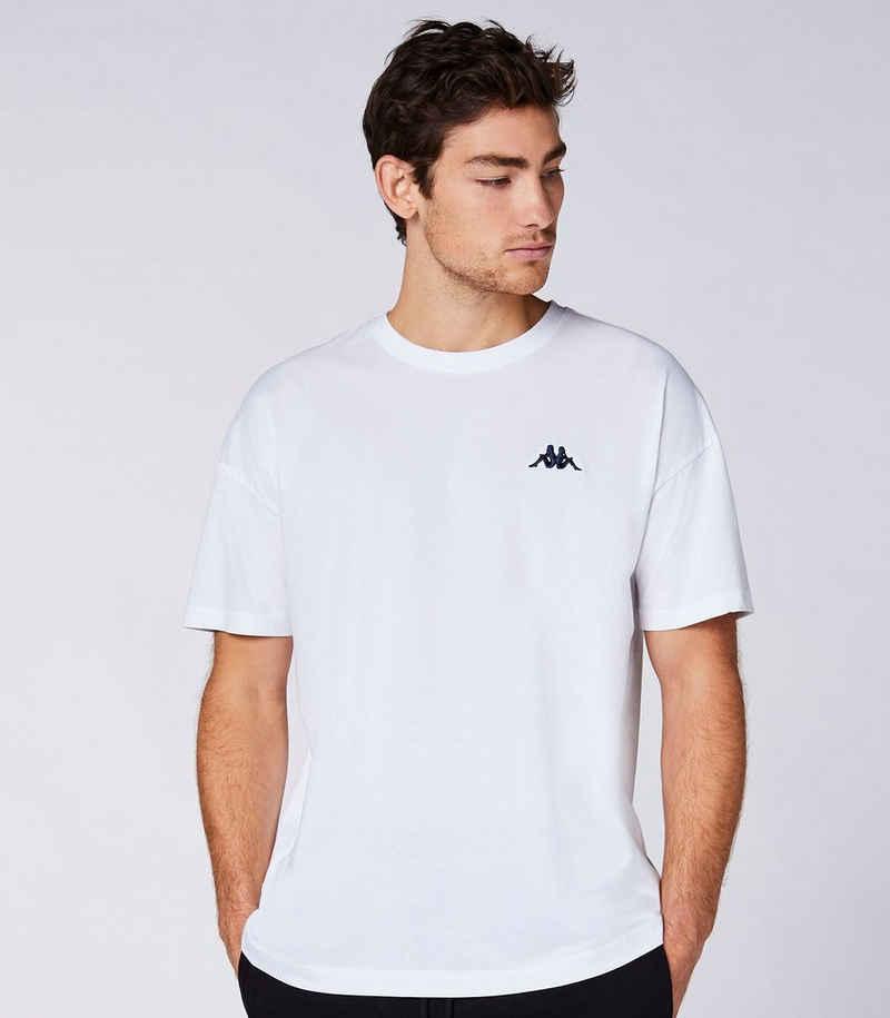 Kappa T-Shirt »AUTHENTIC VEER« mit angesagtem Rundhalsausschnitt