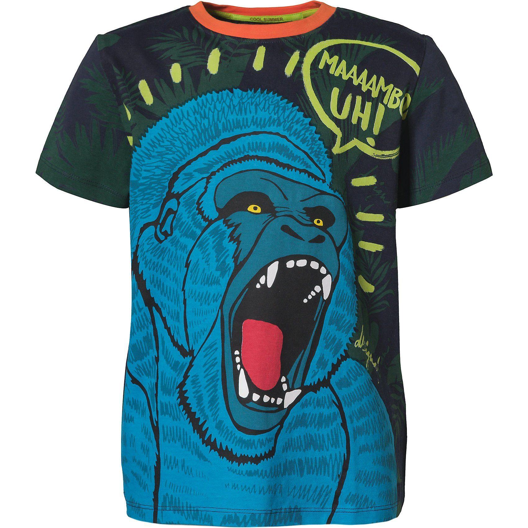 Kinder Trachten T Shirt mit Bulldog mud hellbraun