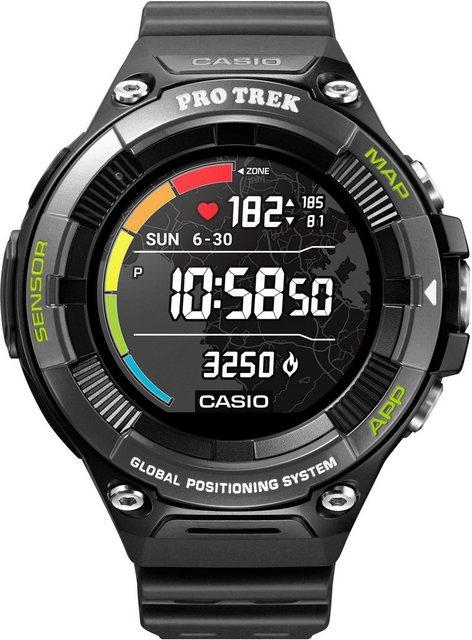 Smartwatches - CASIO PRO TREK Smart PRO TREK Smart, WSD F21HR BKAGE Smartwatch (Wear OS by Google)  - Onlineshop OTTO