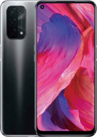 Oppo A74 5G Smartphone (16,5 cm/6,5 Zoll, 128 GB Speicherplatz, 48 MP Kamera)