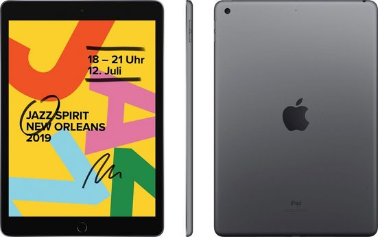 "Apple 10.2 iPad Wi-Fi 128GB (2019) Tablet (10,2"", 128 GB, iOS)"