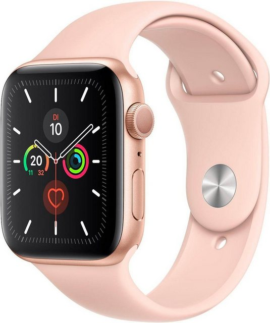 Smartwatches - Apple Series 5 GPS, Aluminiumgehäuse mit Sportarmband 44mm Watch (Watch OS 6)  - Onlineshop OTTO