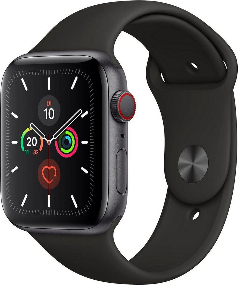 Apple Series 5 GPS + Cellular, Aluminiumgehäuse mit