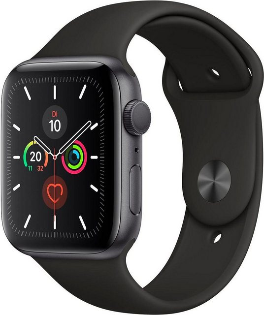 Smartwatches - Apple Series 5 GPS, Aluminiumgehäuse mit Sportarmband 44mm Watch (Watch OS 6)  - Onlineshop OTTO