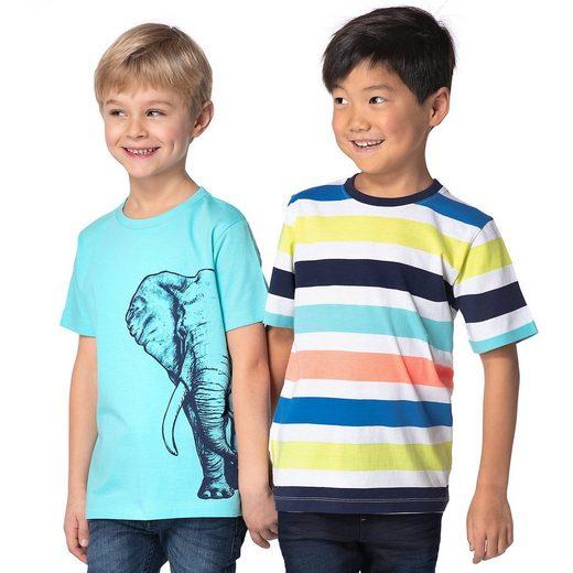 MyToys-COLLECTION T-Shirts Doppelpack für Jungen von ZAB kids