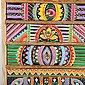 Casa Moro Schmuckkasten »Mini-Kommode Indica 19,5x12x29 cm cm (B/T/H) aus Echtholz mit 5 bunten Schubladen, Handbemaltes Holz-Kästchen afrikanischer Stil, RK105«, Handmade, Bild 4