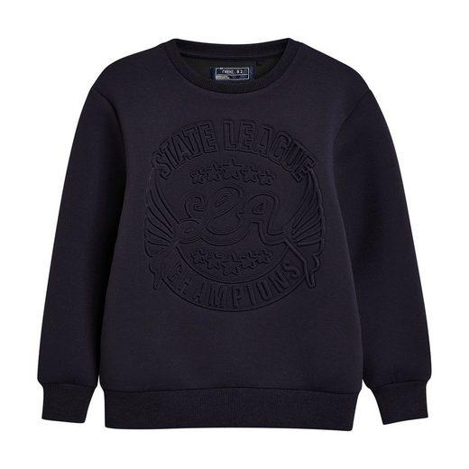 Next Sweatshirt mit graviertem Print für Jungen
