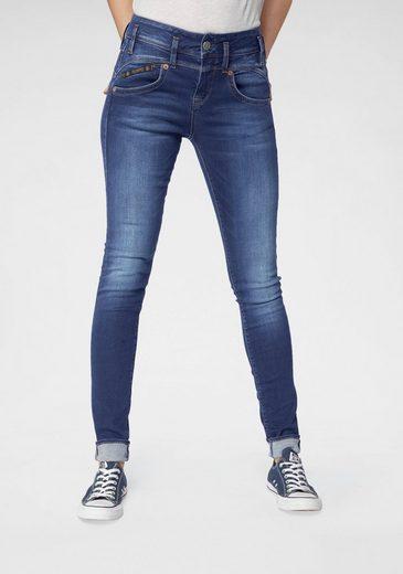 Herrlicher Slim-fit-Jeans »PEARL SLIM« High Waist