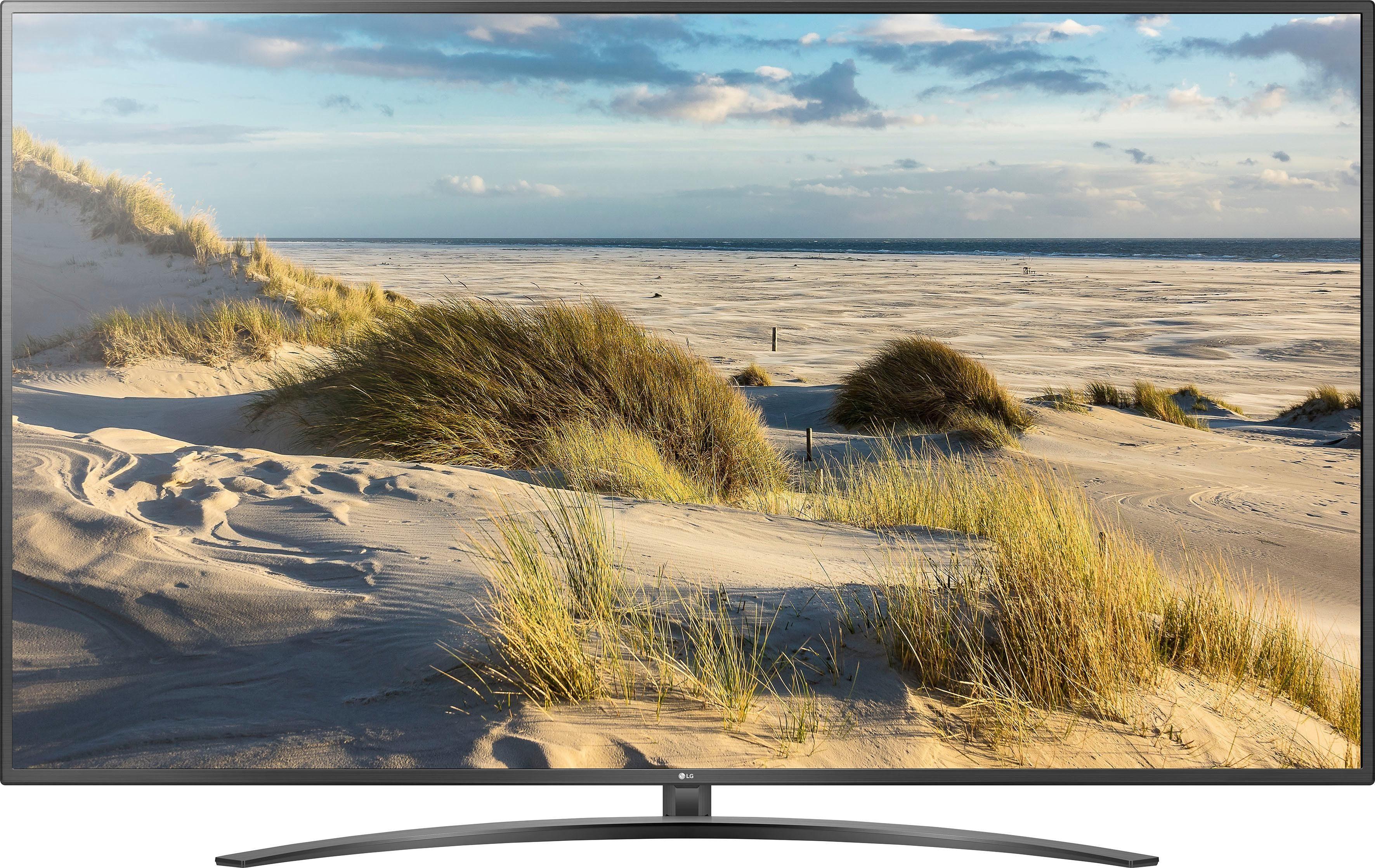 Bild Bilder auf Leinwand Blick von einer Düne auf Strandkörbe MRC-Pano-DE