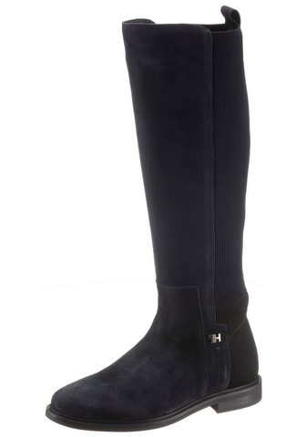 TOMMY HILFIGER »ESSENTIAL FLAT LONG BOOT« Ilgaauliai ...