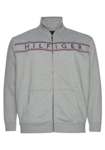 Tommy Hilfiger Big & Tall Sweatjacke »BIG & TALL HILFIGER LOGO ZIP THROUGH«
