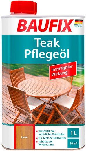 BAUFIX Holzschutz-Lasur »Kiefer«, Teak-Pflegeöl