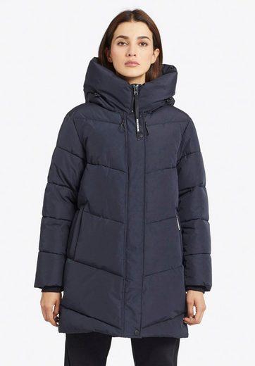 khujo Steppjacke »JORDIS« stylische Damen Winterjacke mit Kapuze