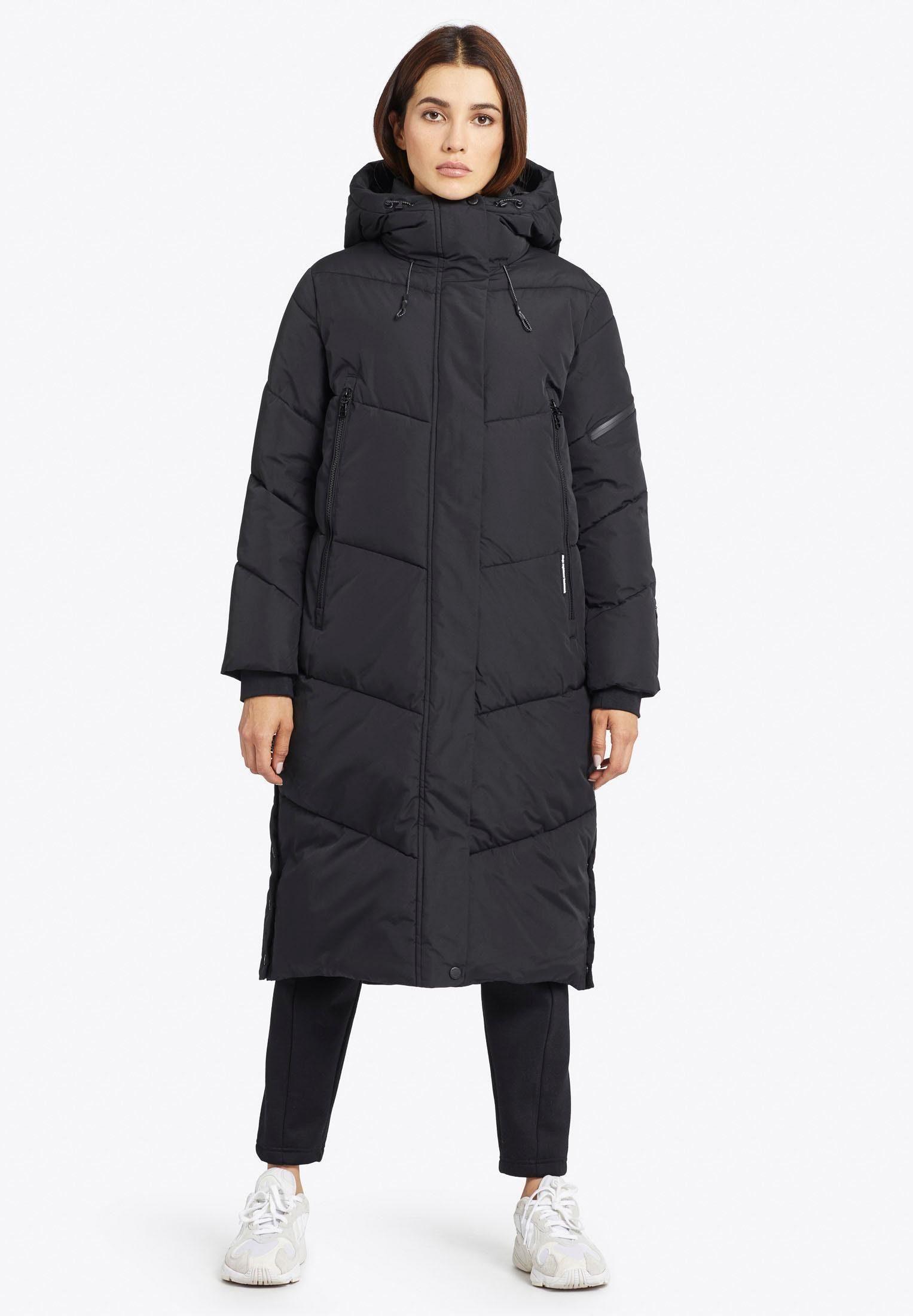 khujo Parka »SONJE« warmer Steppmantel mit großen Reißverschlusstaschen vorn online kaufen | OTTO
