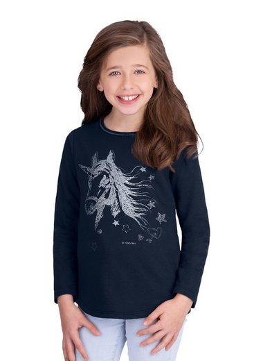 Trigema Sweater mit Einhorn