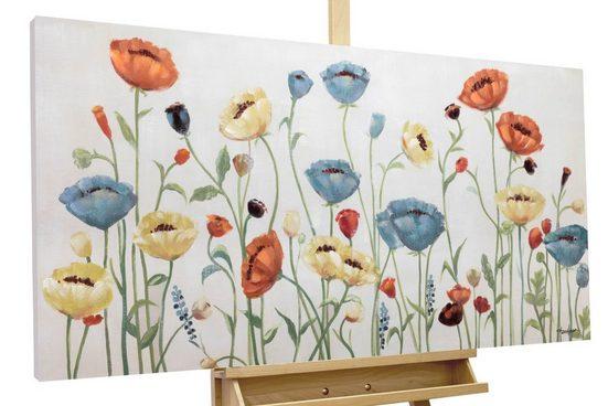 KUNSTLOFT Kunstdruck »Last Sunday«, handbemaltes Wandbild auf Leinwand