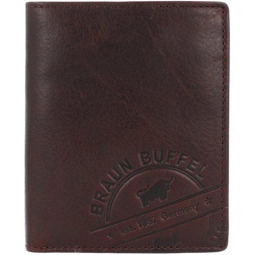Braun Büffel Parma LP Geldbörse Leder 9,5 cm