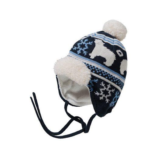 Sterntaler® Baby Bommelmütze zum Binden für Mädchen