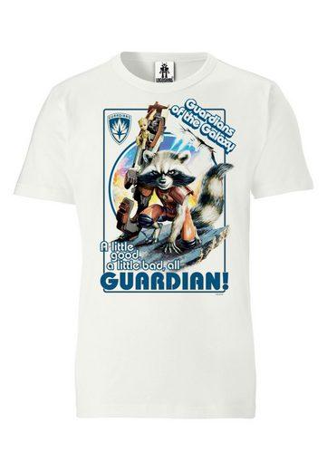 LOGOSHIRT T-Shirt mit Rocket-Print