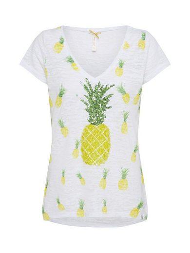 Key Largo V-Shirt Pailletten