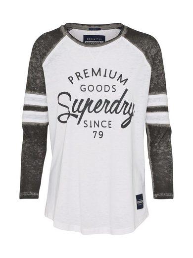Superdry 3/4-Arm-Shirt »BROOKLYN«