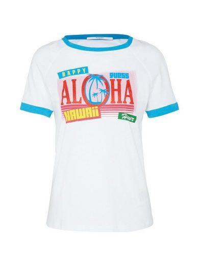 Guess Rundhalsshirt »Aloha«