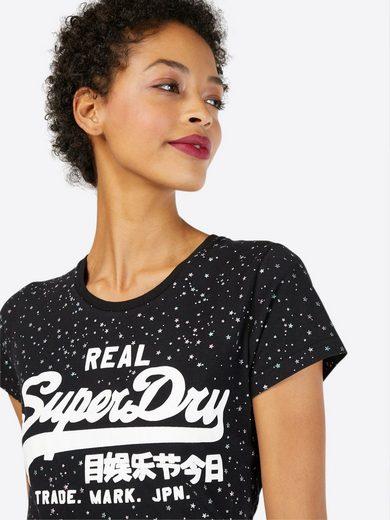 Superdry Print-Shirt »VINTAGE LOGO STAR AOP ENTRY«