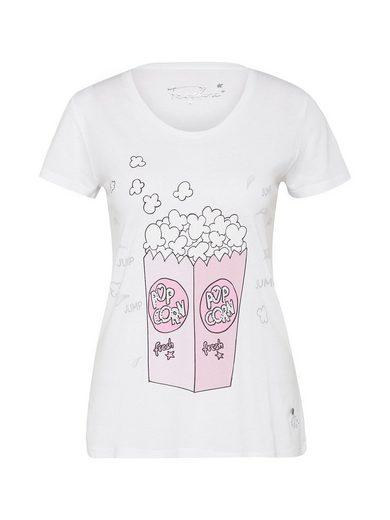 Frogbox Print-Shirt »Popcorn« Ziersteine