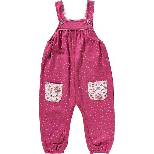People Wear Organic Baby Sweathose mit Latz für Mädchen, Organic Cotton