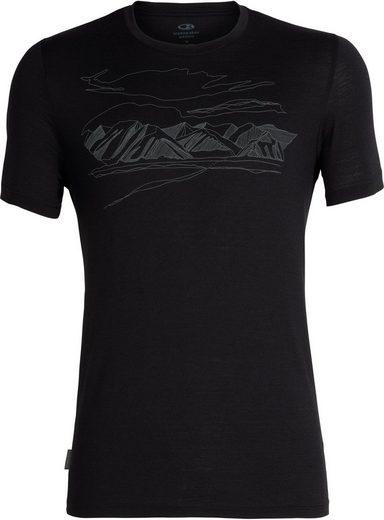 Icebreaker T-Shirt »Tech Lite Coronet Peak SS Rundhalsshirt Herren«