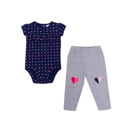 Carter`s Baby Set Kurzarmbody + Leggings für Mädchen