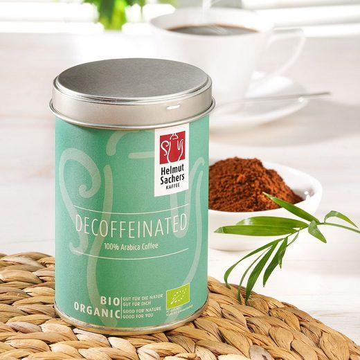 Sachers Helmut Sachers Kaffee Entkoffeiniert Bio