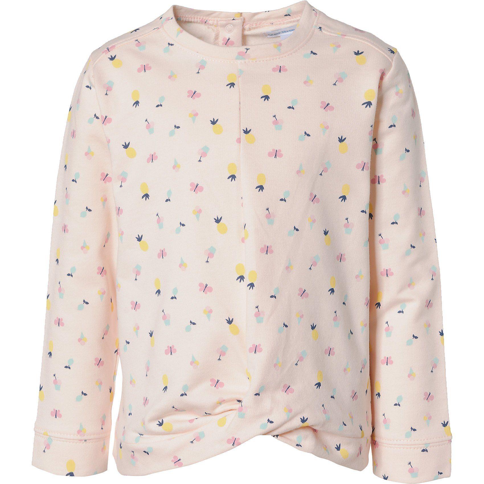 vertbaudet Sweatshirt für Mädchen, niedliches Allover Dessin online kaufen | OTTO