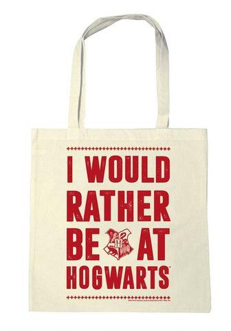 LOGOSHIRT Baumwolltasche su Harry Potter-Print