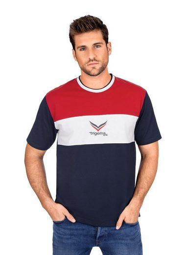 Trigema T-Shirt mit Logo