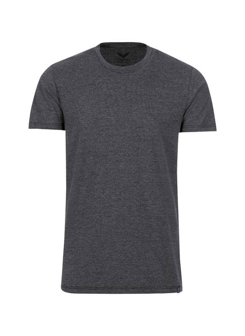 Trigema Slim Fit T-Shirt aus DELUXE Baumwolle