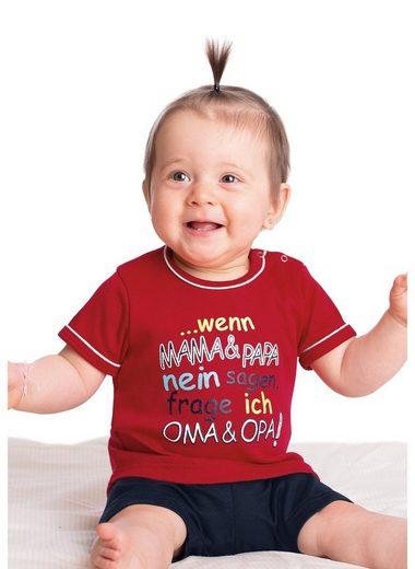 Trigema Shirt Feinripp Oma & Opa