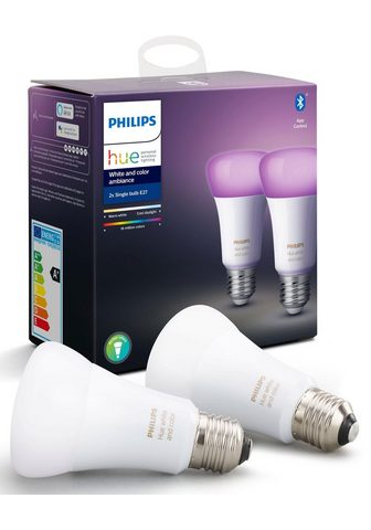 PHILIPS HUE »White and Color Ambiance dvigubas 2x8...