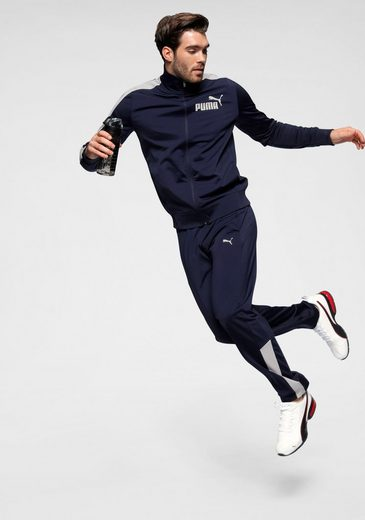 PUMA Trainingsanzug »Men´s Graphic Tricot Suit«
