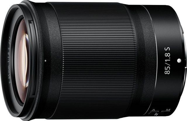 Objektive - Nikon »NIKKOR Z 85 mm 1 1,8 S« Objektiv  - Onlineshop OTTO