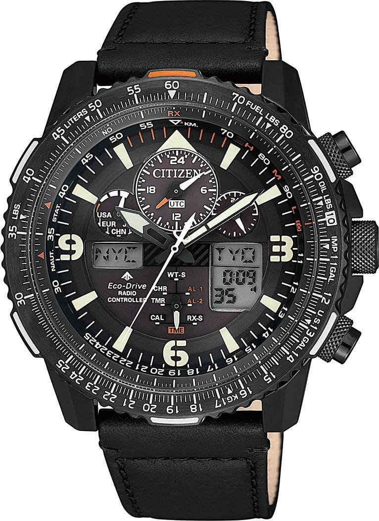 Citizen Funkchronograph »Promaster Eco-Drive Skyhawk, JY8085-14H«
