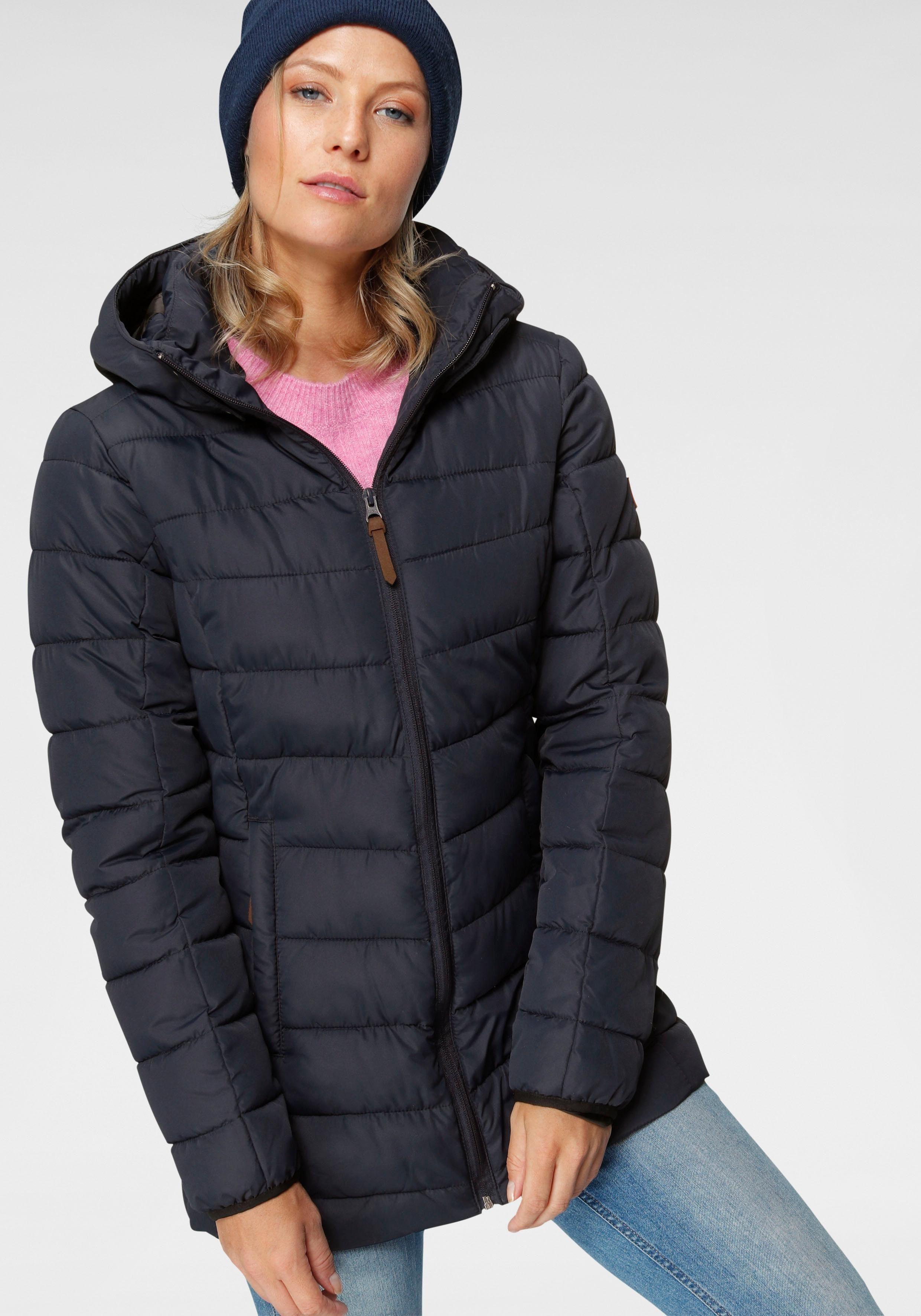 verstellbarer Wintermantel Gr 36 Damenmantel Winterjacke warmer Steppmantel NEU